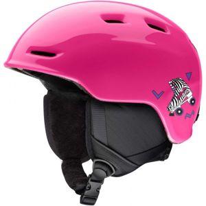 Smith ZOOM JUN růžová (53 - 58) - Dětská lyžařská helma