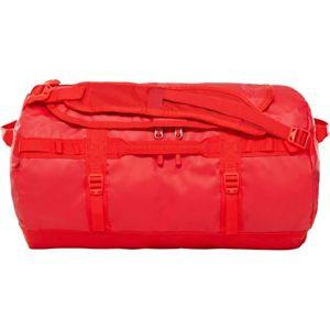The North Face BASE CAMP DUFFEL S červená S - Cestovní taška