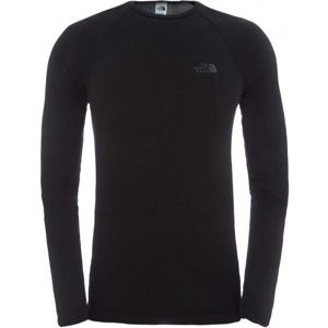 The North Face HYB L/S CREW NECK M černá M/L - Pánské spodní prádlo
