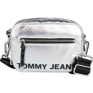 Tommy Hilfiger TJW ITEM CROSSOVER SILVER šedá  - Dámská taška přes rameno