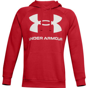 Under Armour RIVAL FLEECE BIG LOGO HD  S - Pánská mikina