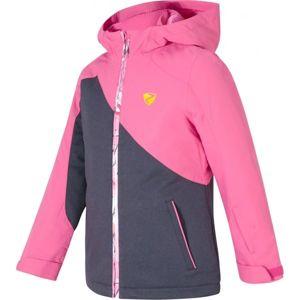 Ziener ABELLA JR růžová 164 - Dívčí bunda